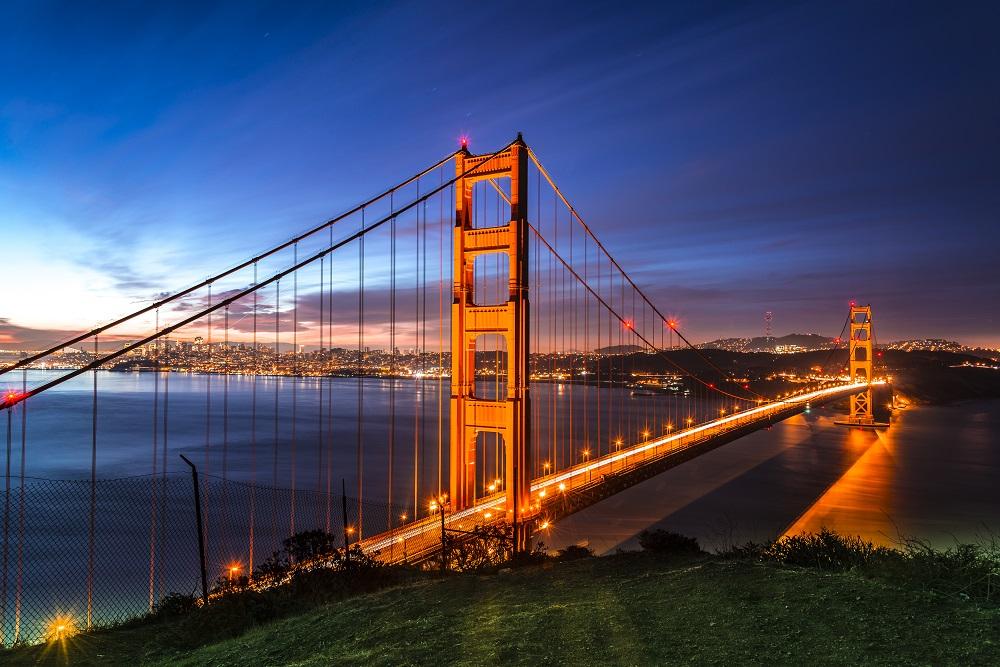 The stunning Golden Gate Bridge. Photo: Anders E. Skanberg/Shutterstock