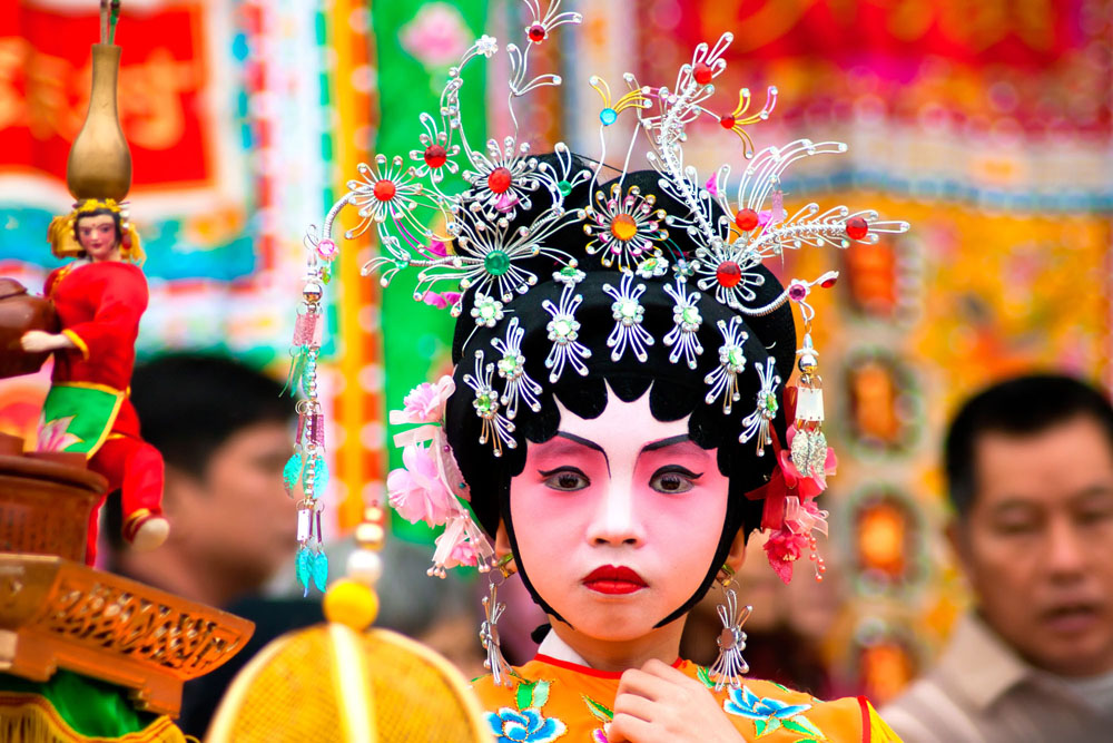 Participating in Chinese New Year festivities in Guangzhou. Photo: Shutterstock