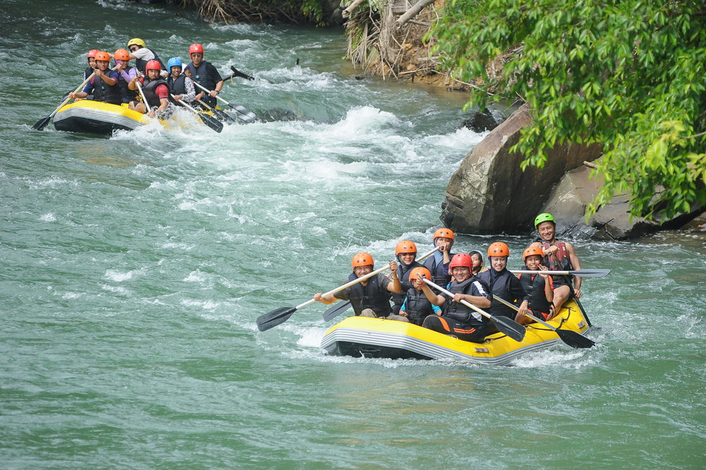 Whitewater rafting in Malaysia. Photo: Lano Lan/Shutterstock