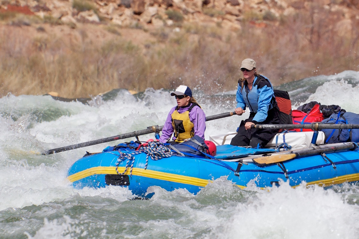 Rafting in Grand Canyon, Colorado.