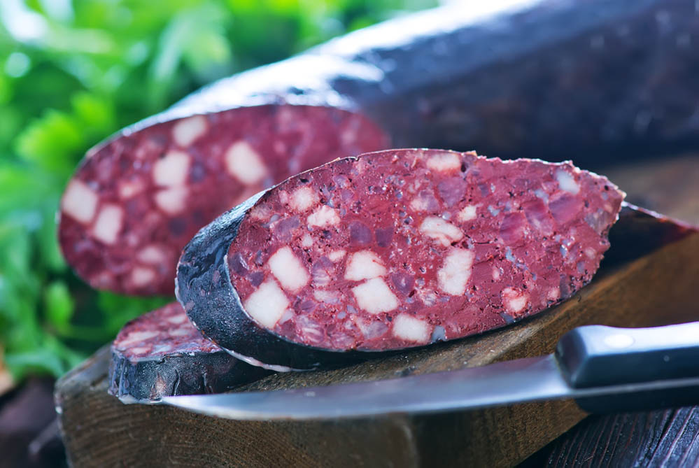 A helping of blood sausage, anyone? Photo: Shutterstock