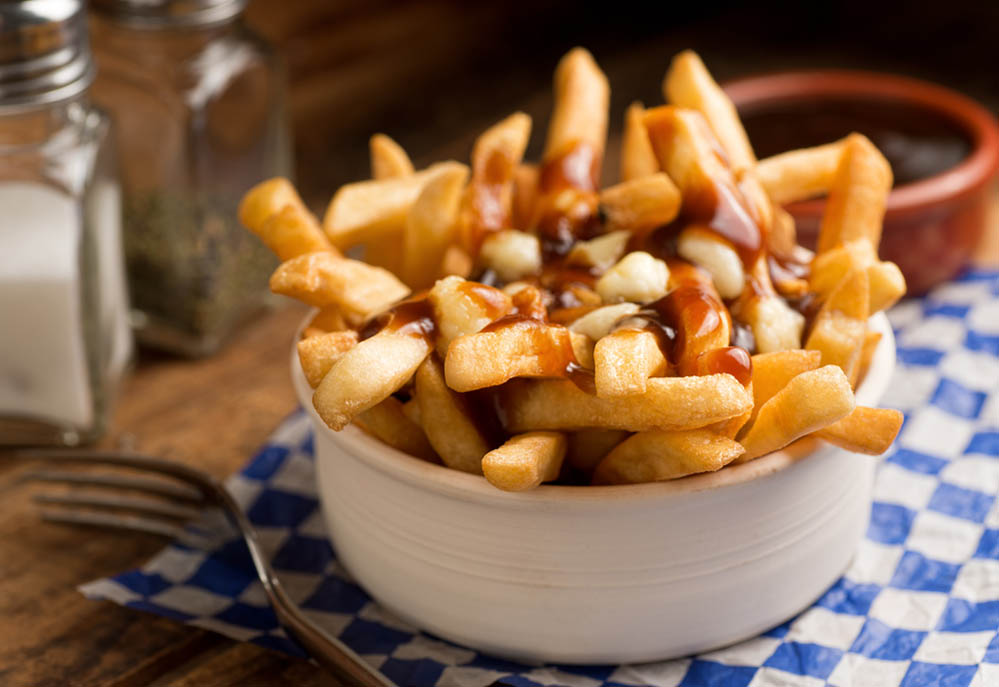Poutine, looks more like fancy French fries. Photo: Shutterstock
