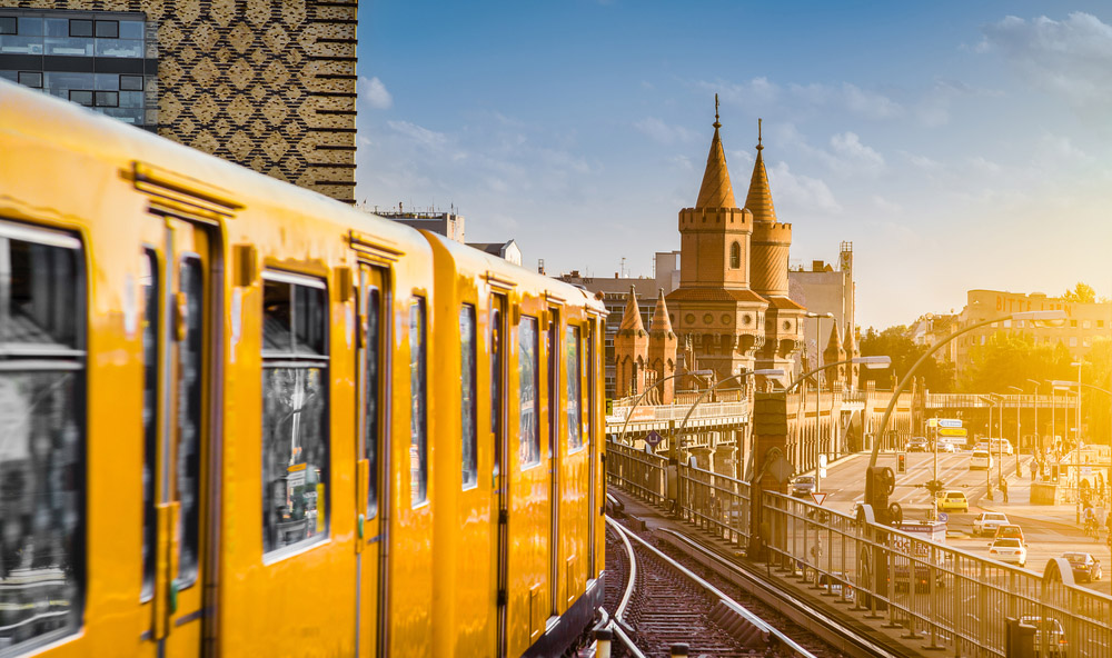 Hop on the S-Bahn for some great views of Berlin's landmarks. Photo: Shutterstock