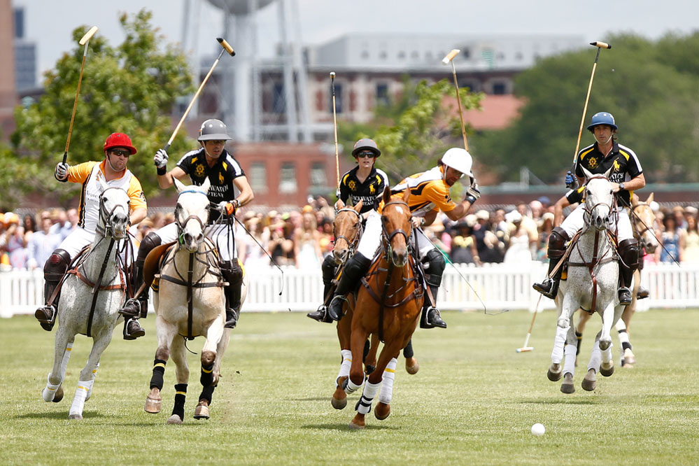 Argentinian polo player during 7th Annual Veuve Cliquot Polo Classic. Photo: Shutterstock