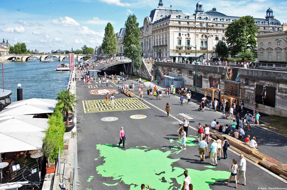 Les Berges de Seine Rive Gauche. Photo: flickr_apur/Flickr
