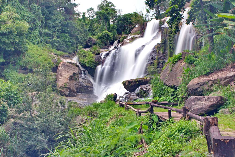Mae Klang waterfall.