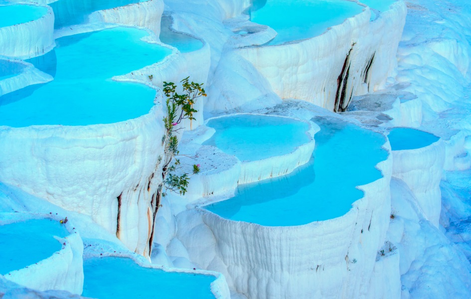 Travertine Pools of Pamukkale