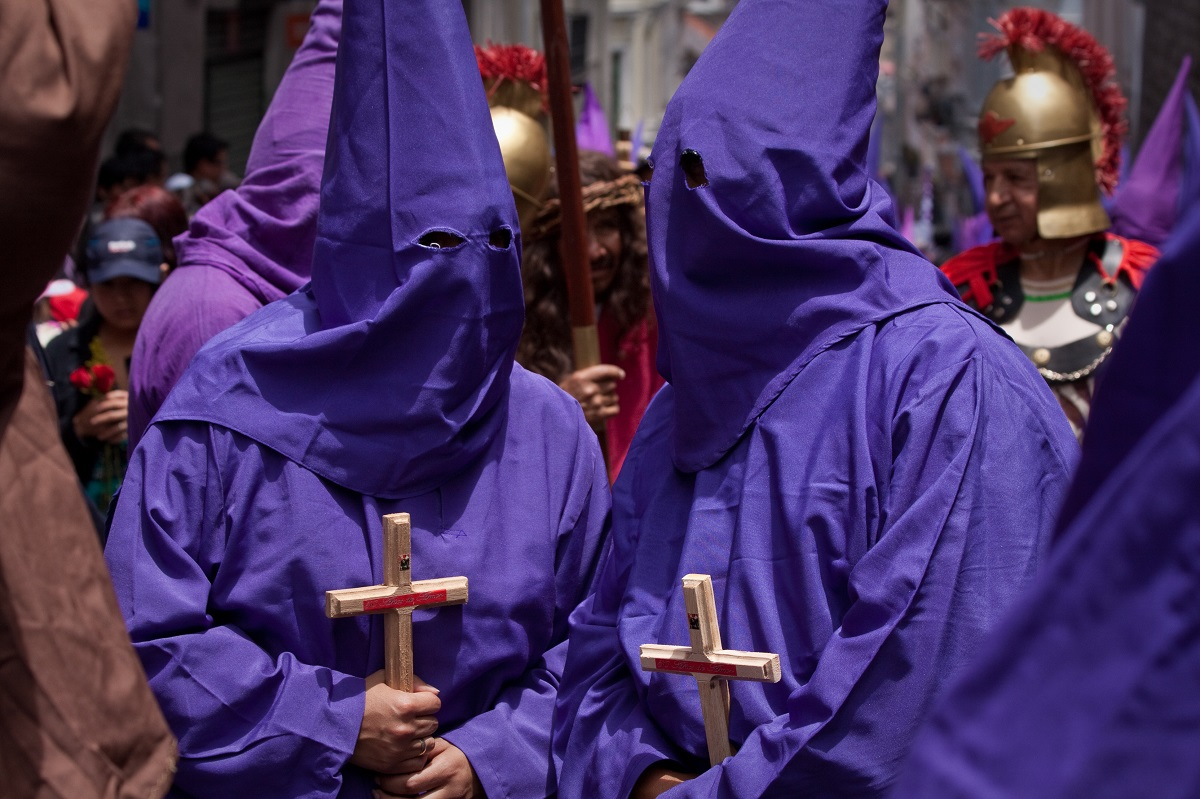 Good Friday procession in Quito, Ecuador. Photo: Pablo Hidalgo/123RF