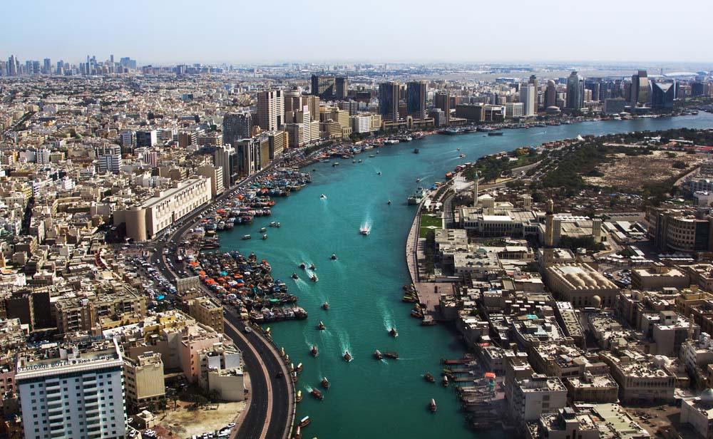 Dubai Creek, United Arab Emirates.