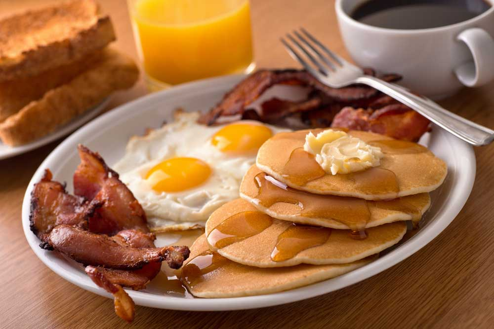 New York City pancakes.