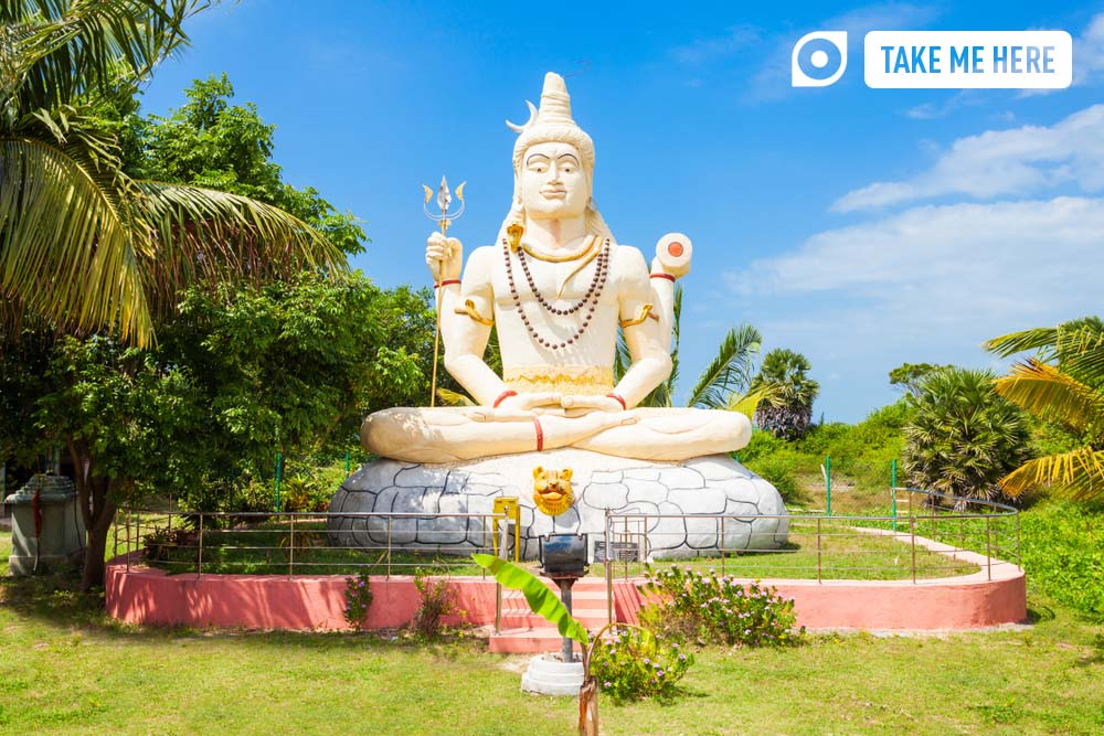 Sampunaatheecharam Shiva Temple hindu temple near Jaffna, Sri Lanka.