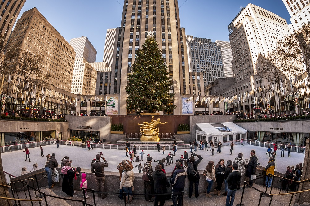 The Rink at Rockefeller Center (New York City). Photo: Marcio Jose Bastos Silva/Shutterstock