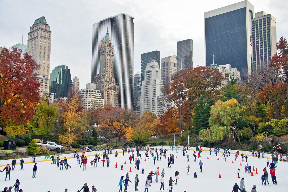 Wollman Skating Rink (New York City). Photo: Kris Yeager/Shutterstock