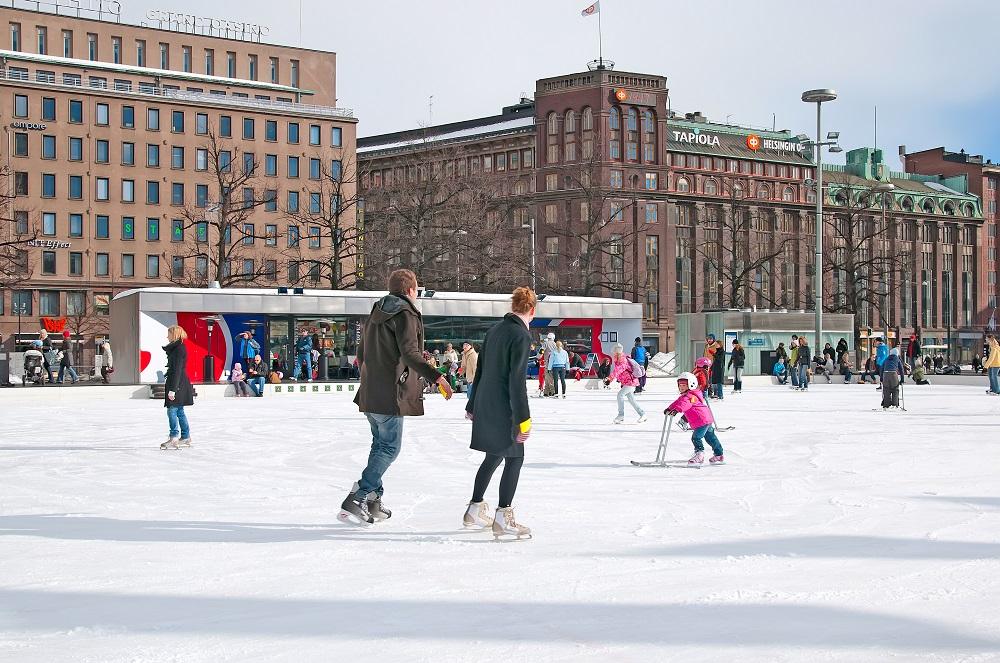 Helsinki Icepark (Helsinki). Photo: Radoslaw Lecyk/Shutterstock