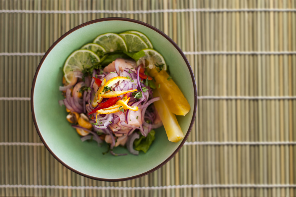 Ceviche is Peru's national dish, and one you must try on your trip