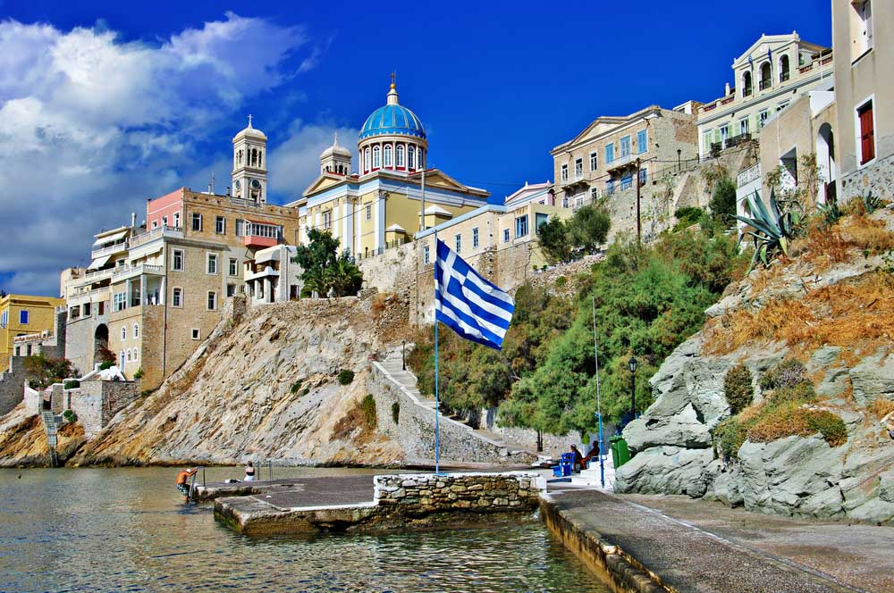 Syros, one of the Cyclades Islands.
