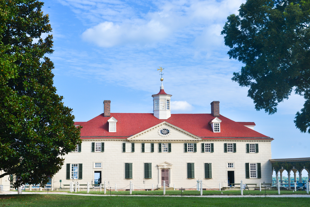 Mount Vernon, Home of George Washington - Washington DC.