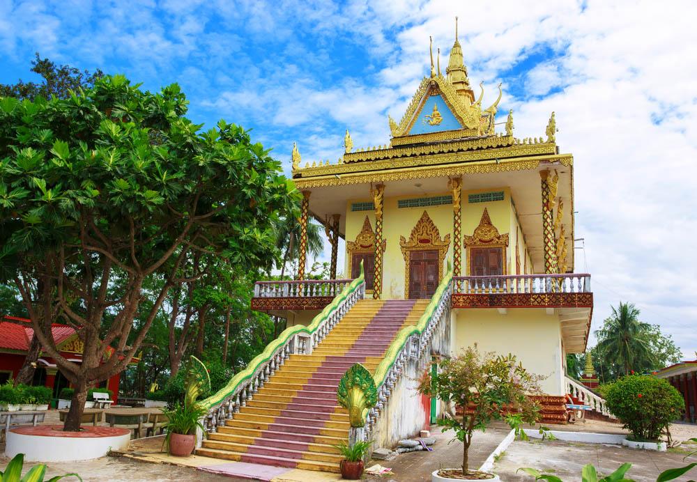 Amazing view of Wat Leu in Sihanoukville. Photo: Shutterstock