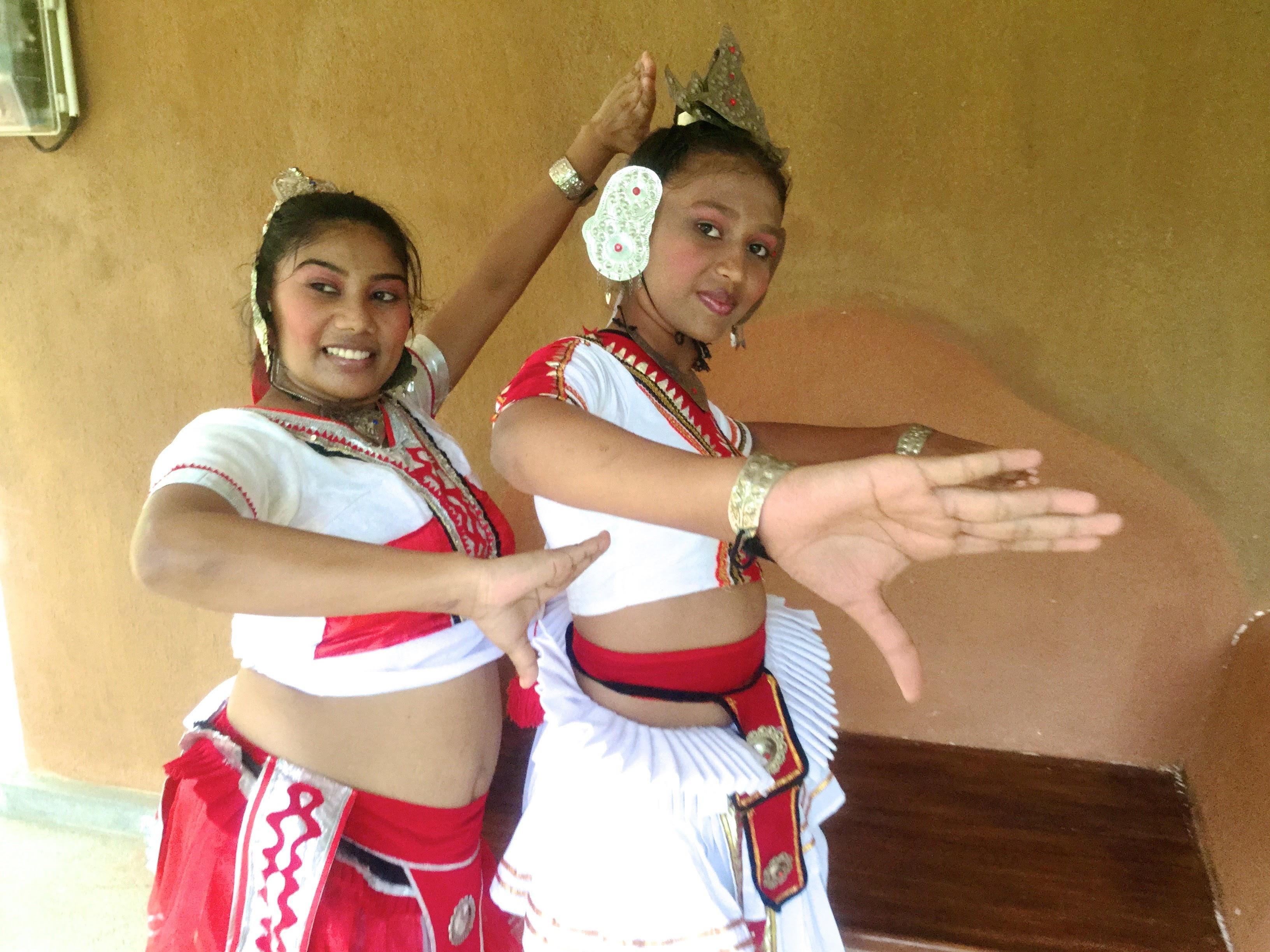 Sri Lankan traditional dance. Photo: Durga, local expert for Sri Lanka.