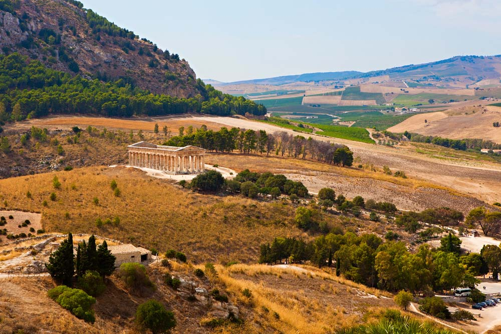 Temple of Segesta in Sicily.