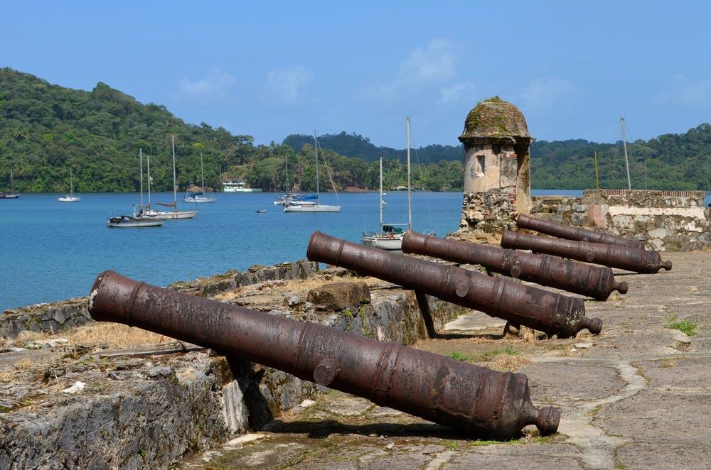 Colonial fort in Portobelo, Panama.