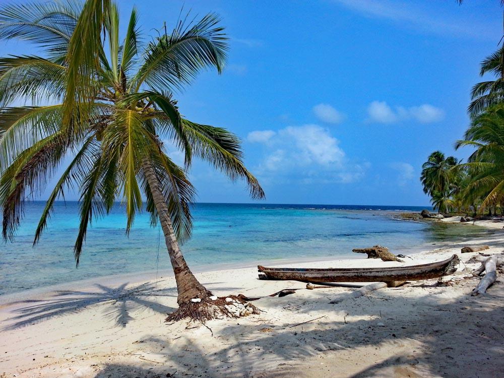 Diablo Island at Guna Yala, Panama.