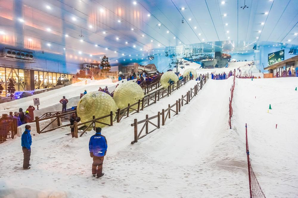 Inside the incredible Ski Dubai. Photo: Shutterstock