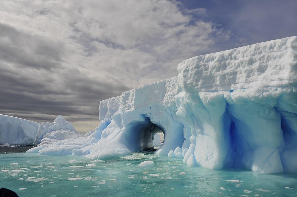 Antarctica landscape.