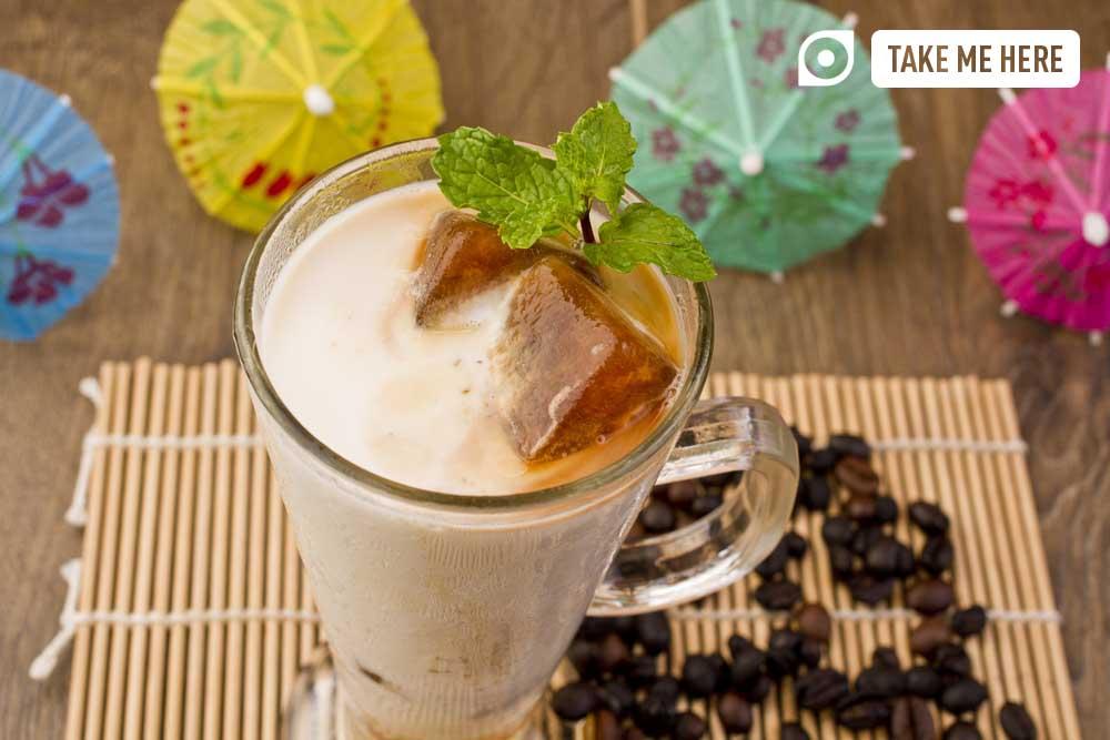 Kopi-C, a speciality at Nanyang Old Coffee.