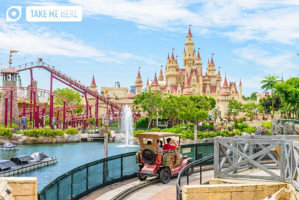 Universal Studios theme park, Sentosa island, Singapore.