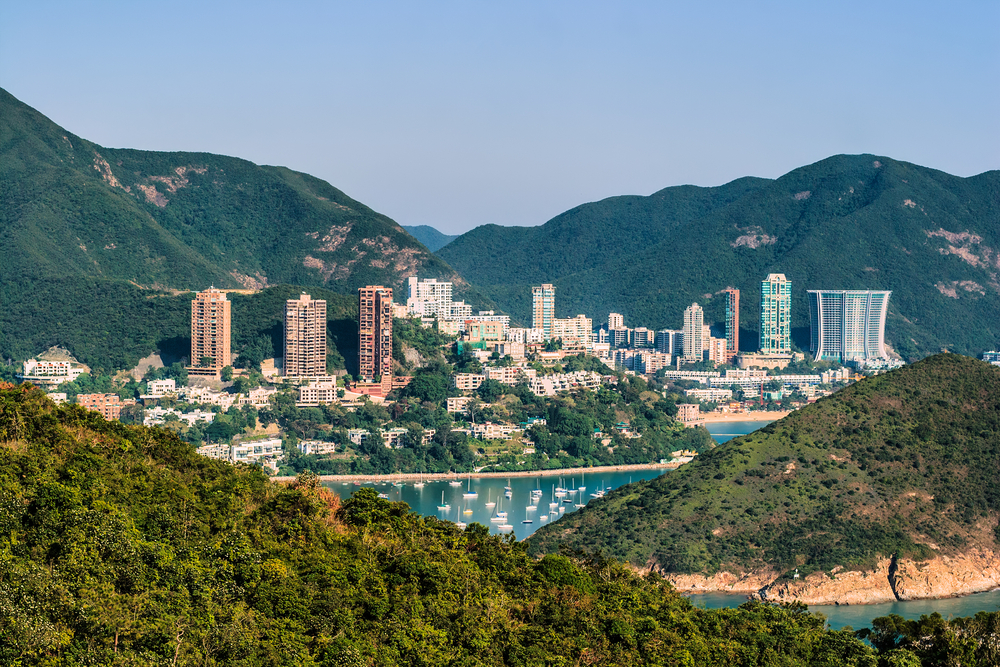 Deep Water Bay, Repulse Bay and surrounding hills. Photo: Shutterstock