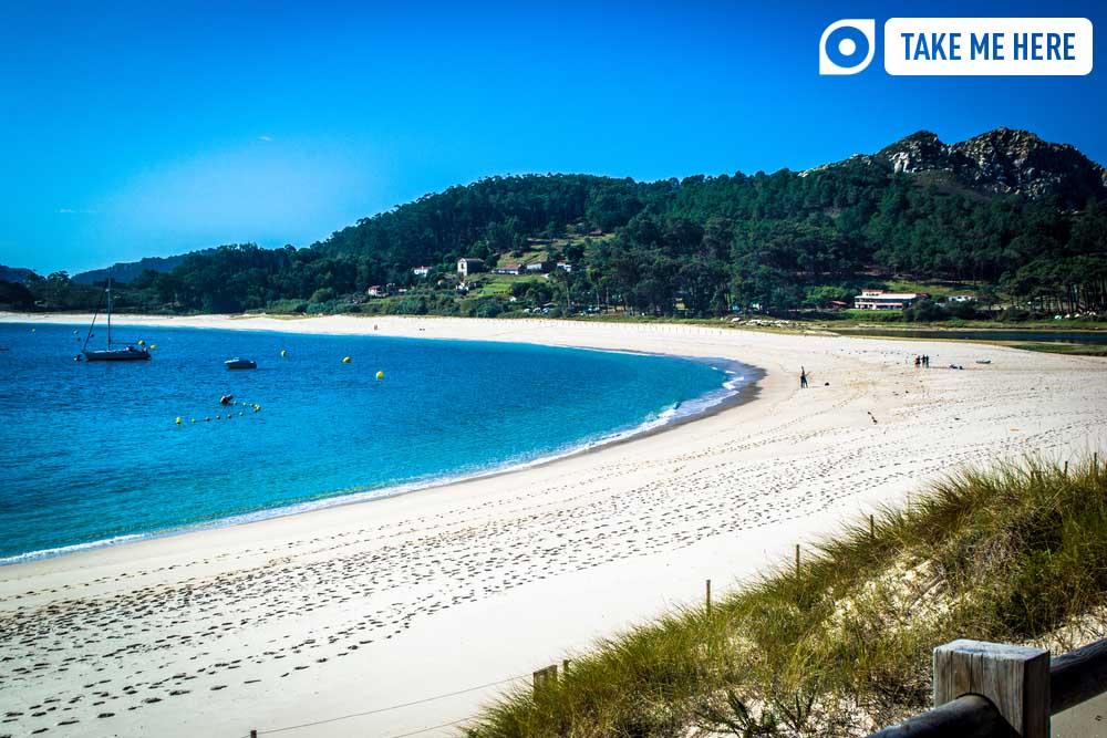 Playa de Rodas, Isla la Cíes