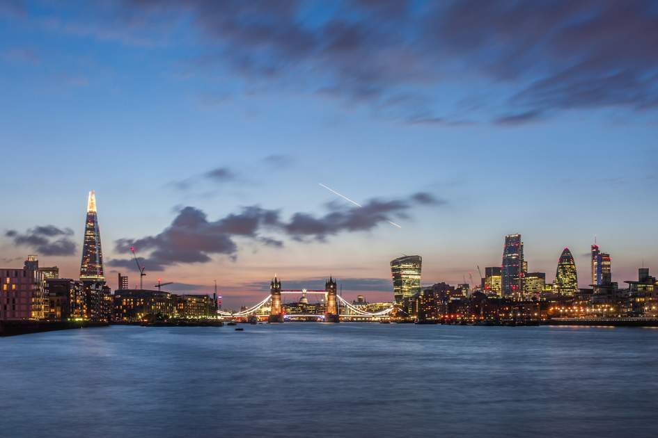 London's skyline. Photo: Shutterstock