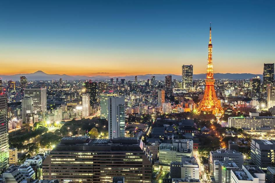 Tokyo. Photo: Shutterstock
