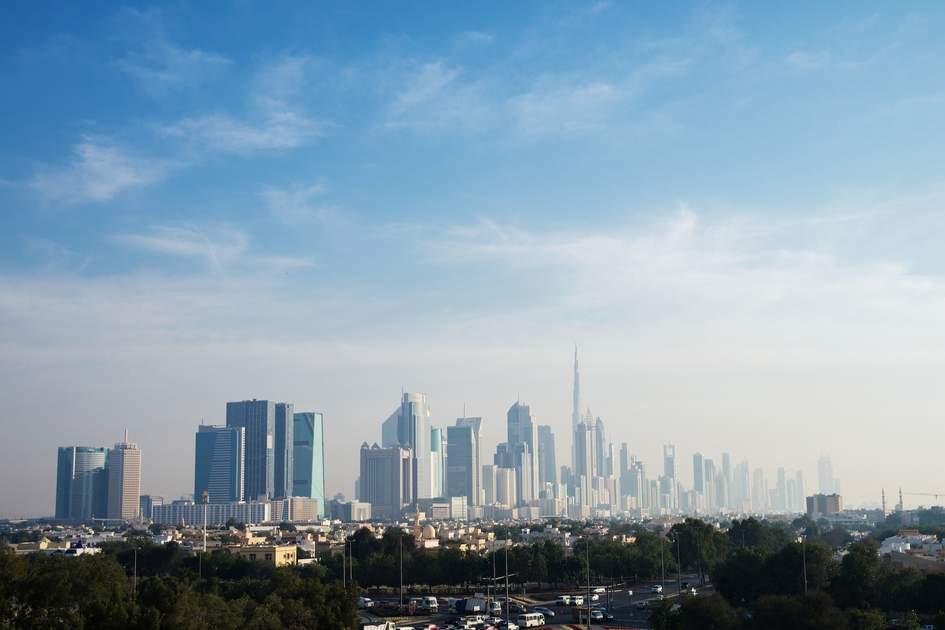 Dubai skyline. Photo: Shutterstock