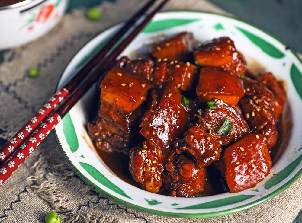 Shanghai's hong shao rou or 'red-cooked' pork'. Photo: Shutterstock