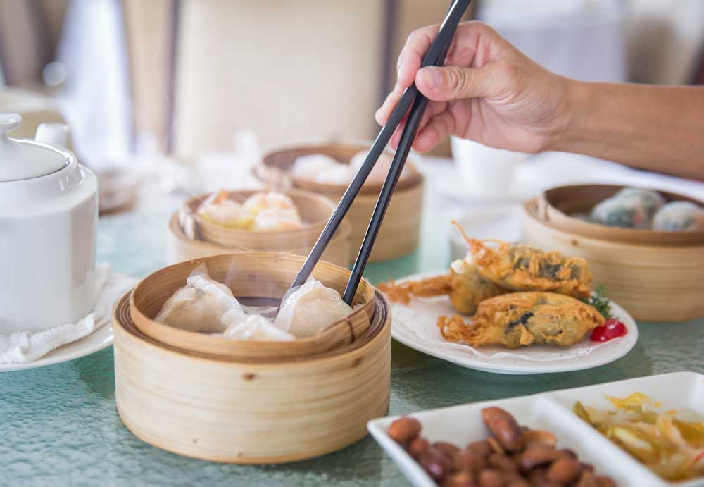 Chinese dim sum set. Photo: Shutterstock