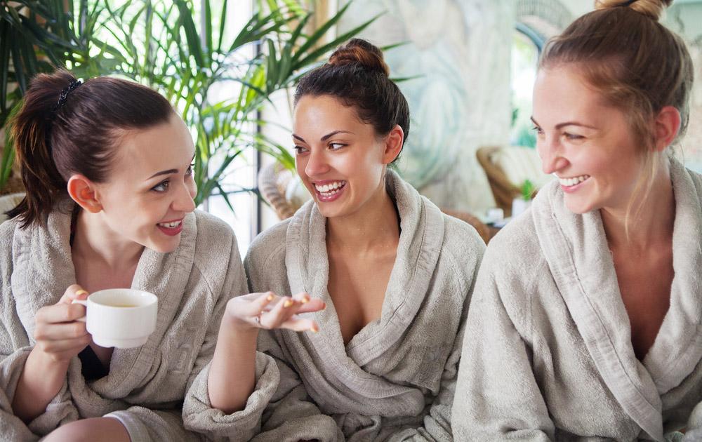 Enjoying a spa day. Photo: Shutterstock