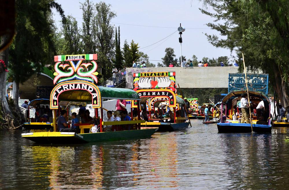 Xochimilco lake, Mexico. Photo: Nicolás Corte