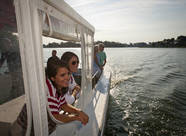 Onancock Boat ride