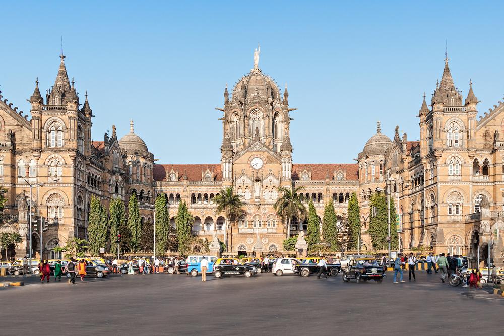 Chhatrapati Shivaji Terminus, Mumbai. Photo: Shutterstock