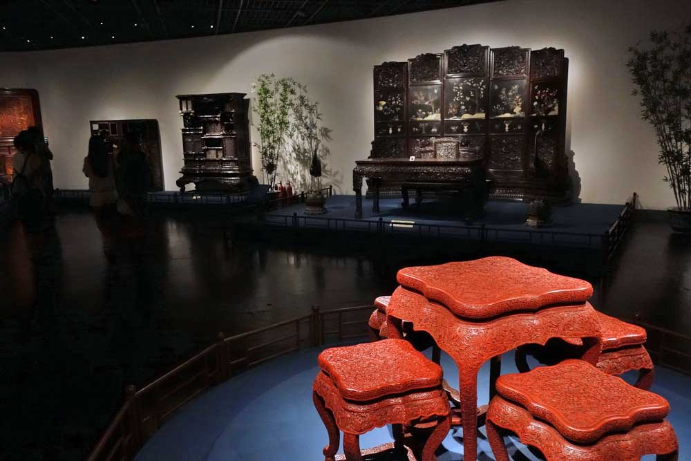 Furniture gallery at Shanghai Museum. Photo: Shutterstock
