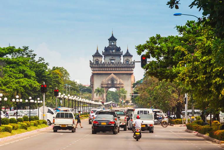 Victory Gate Patuxai, Vientiane. Photo: Shutterstock