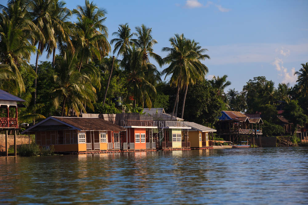 Stilt houses along the Mekong river. Photo: Shutterstock