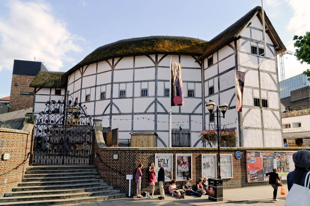 Shakespeare's Globe, opened for performances in 1997. Photo: Shutterstock