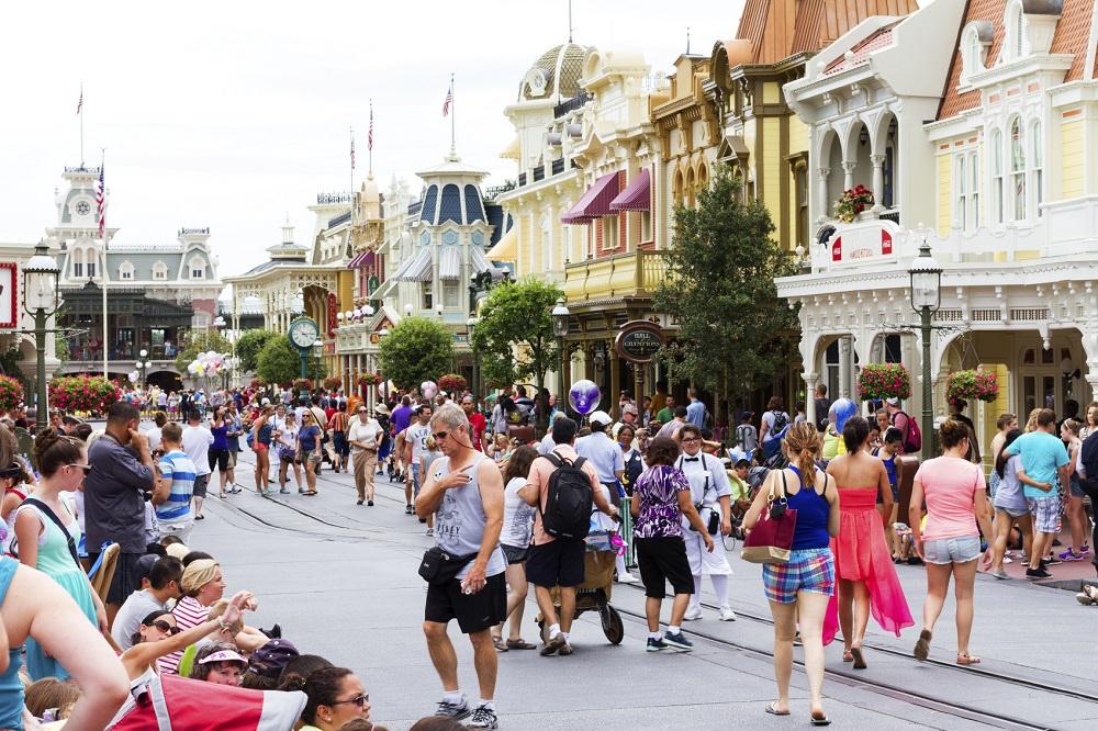 Walt Disney World during the high summer season. Photo: istockphoto