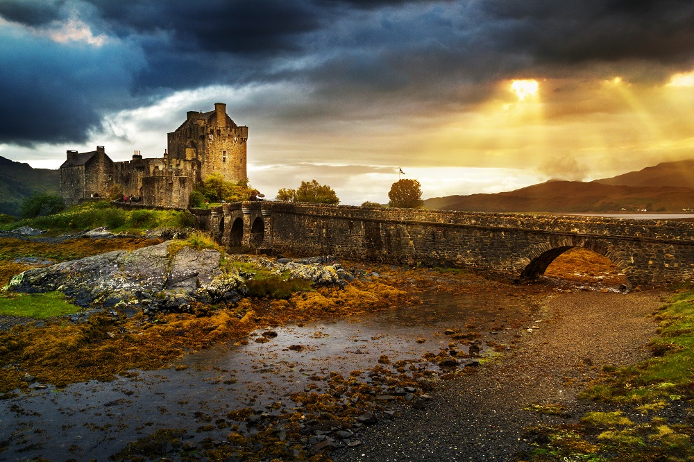 Eilean Donan castle in Scotland. Photo: Kanuman/Shutterstock