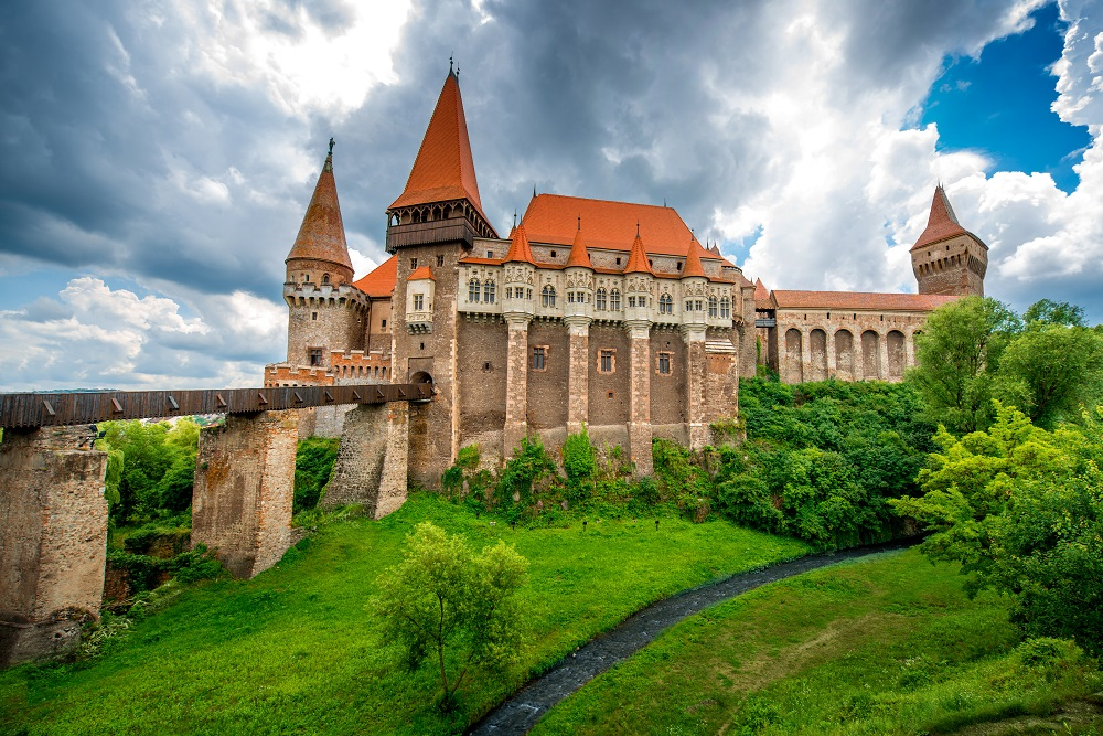 Hunyad Castle, Romania. Photo: RossHelen/Shutterstock