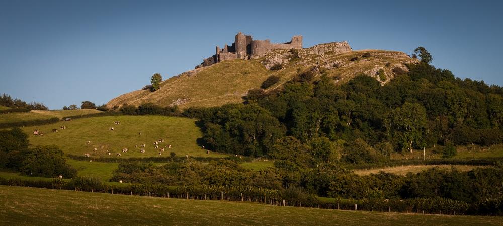 Carreg Cennen, Wales.