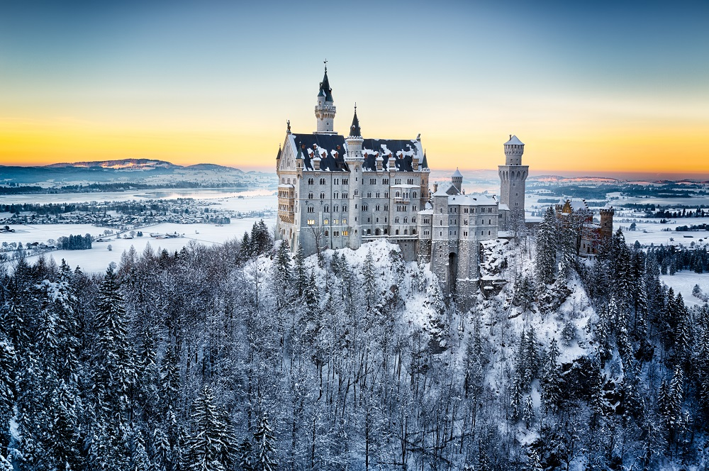 Neuschwanstein Castle, Germany. Photo: Frank Fischbach/Shutterstock
